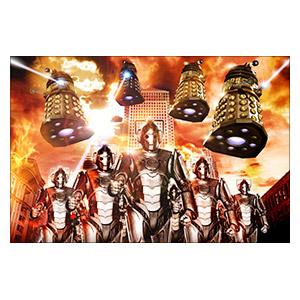 Doctor Who. Размер: 30 х 20 см